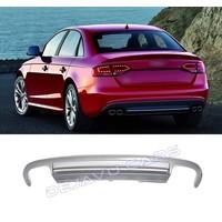 S4 Look Diffuser voor Audi A4 B8