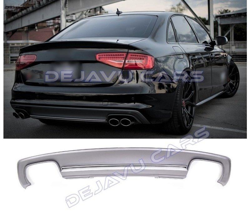 S4 Look Diffuser voor Audi A4 B8.5