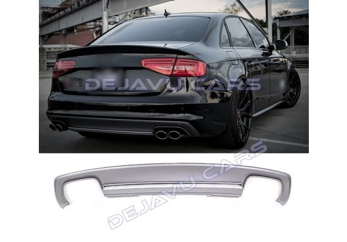 DEJAVU CARS - OEM LINE S4 Look Diffuser for Audi A4 B8.5 (S line)