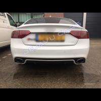 RS5 Look Rear bumper für Audi A5 8T Sportback