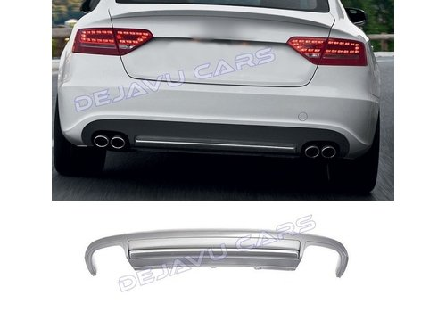 OEM LINE® S5 Look Diffuser for Audi A5 8T Sportback