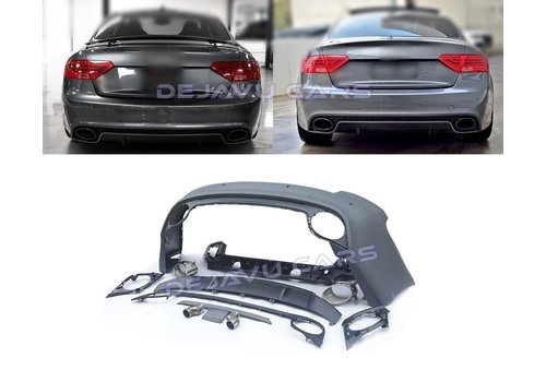 OEM LINE RS5 Look Rear bumper for Audi A5 8T Coupe & Cabrio