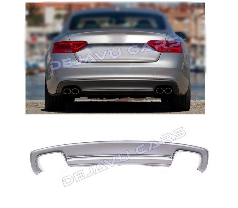 S5 Look Diffuser for Audi A5 8T Sportback