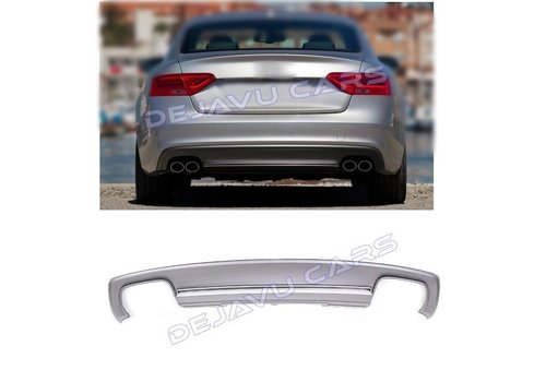OEM LINE S5 Look Diffuser voor Audi A5 8T Coupe