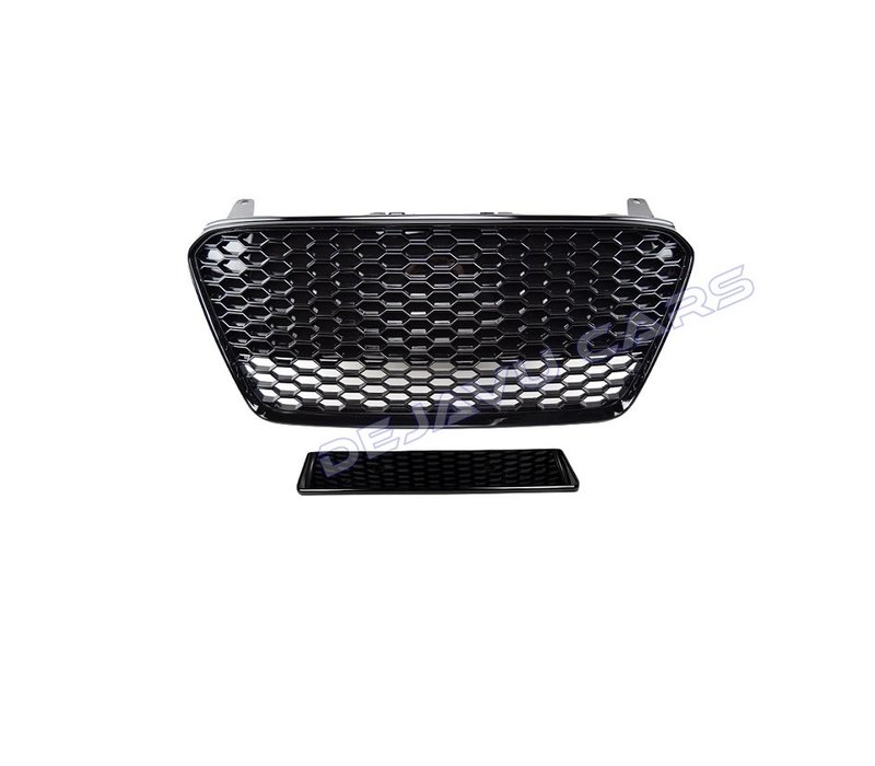 RS Look Front Grill Black Edition voor Audi R8