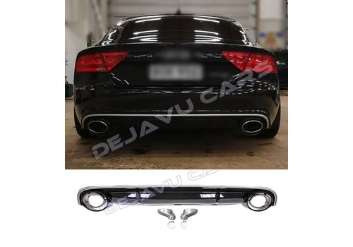 OEM LINE® RS7 Look Diffuser for Audi A7 4G Sportback