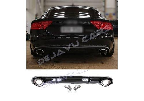 OEM LINE® RS7 Look Diffuser voor Audi A7 4G Sportback