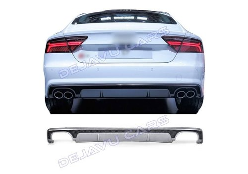 OEM LINE S7 Look Diffuser voor Audi A7 4G