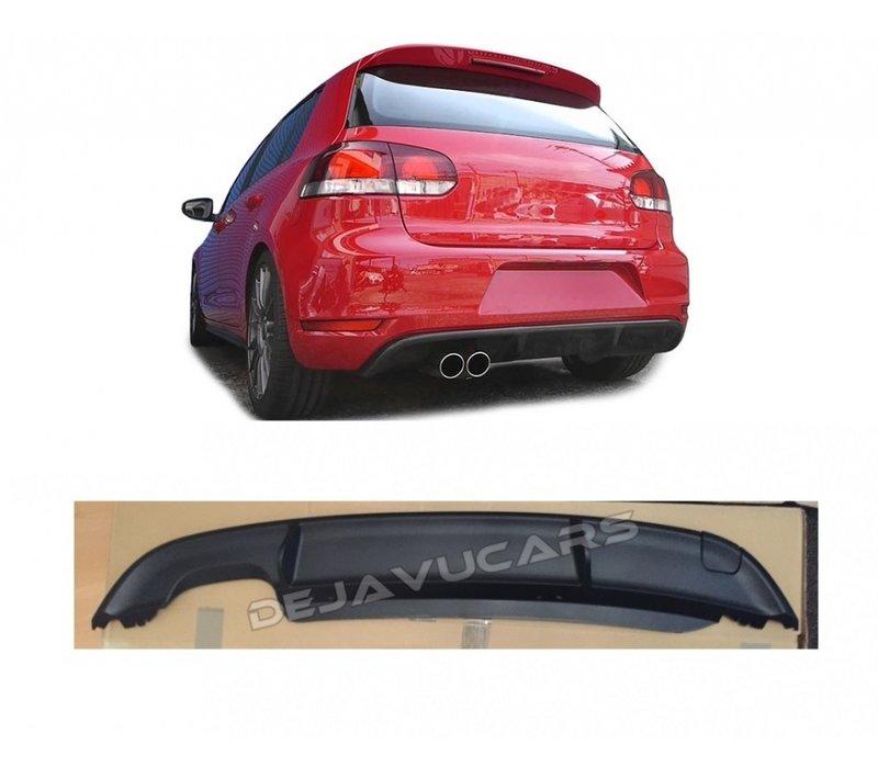 GTD Look Diffusor für Volkswagen Golf 6
