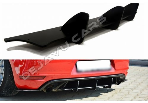 Maxton Design Aggressive Diffuser voor Volkswagen Golf 6 GTI / Edition 35 / ED35 / 35TH