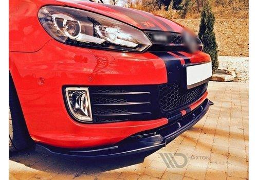 Maxton Design Front Splitter voor Volkswagen Golf 6 GTI 35TH EDITION 35