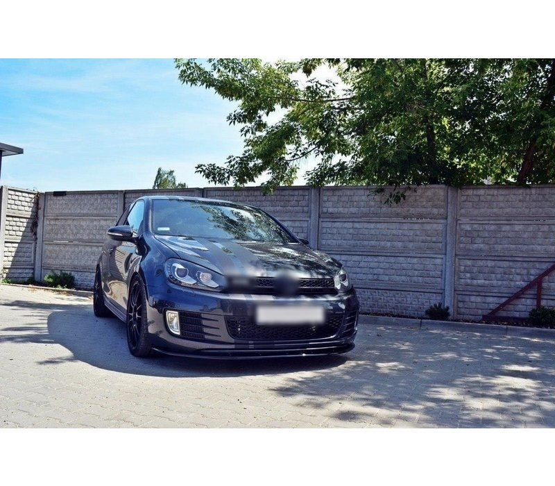 Front Splitter voor Volkswagen Golf 6 GTI / GTD