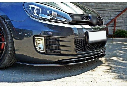 Maxton Design Front Splitter voor Volkswagen Golf 6 GTI / GTD