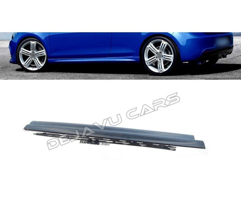 R20 Look Side skirts voor Volkswagen Golf 6