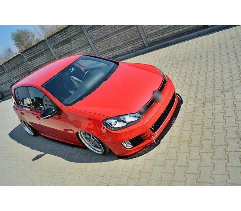 Racing Front Splitter voor Volkswagen Golf 6 GTI 35TH EDITION 35