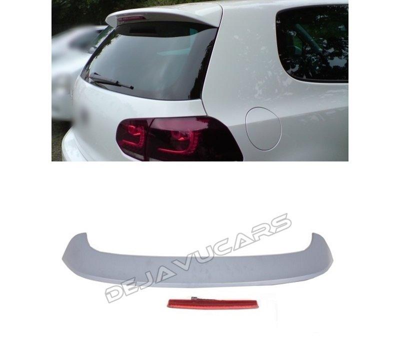R20 / GTI Look Dachspoiler für Volkswagen Golf 6
