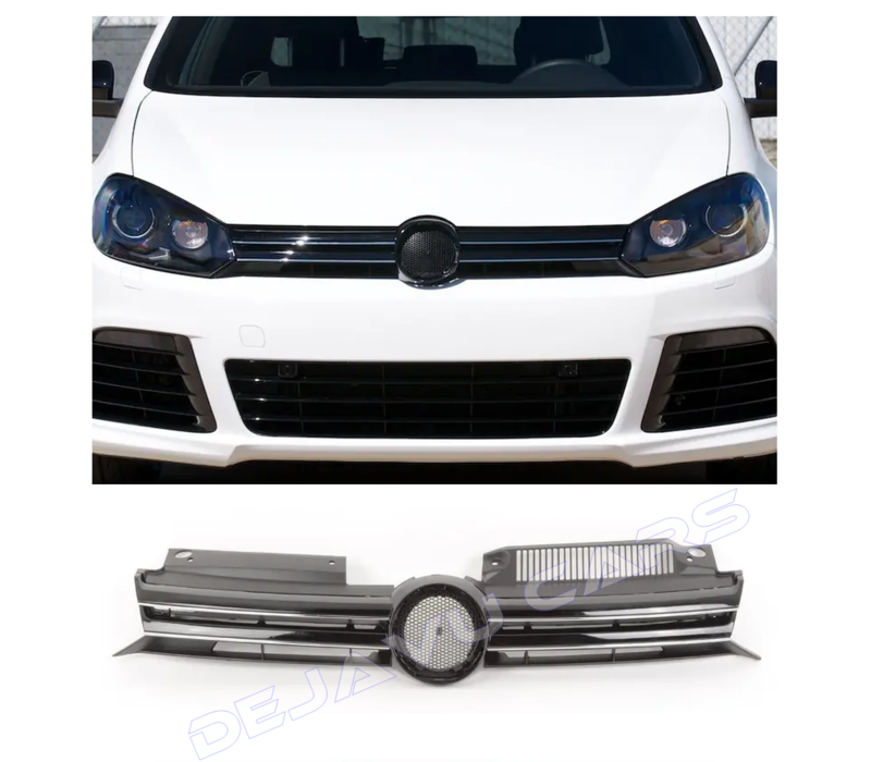 R-Line Look Front Grill for Volkswagen Golf 6