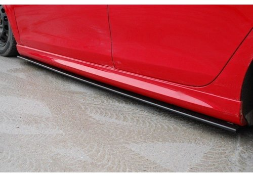Maxton Design Seitenschweller Diffusor für Volkswagen Golf 6 R20 / 35TH EDITION35