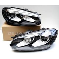 GTI Xenon Look LED Koplampen voor Volkswagen Golf 6