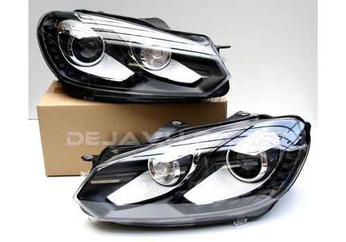 OEM LINE GTI Xenon Look LED Headlights for Volkswagen Golf 6
