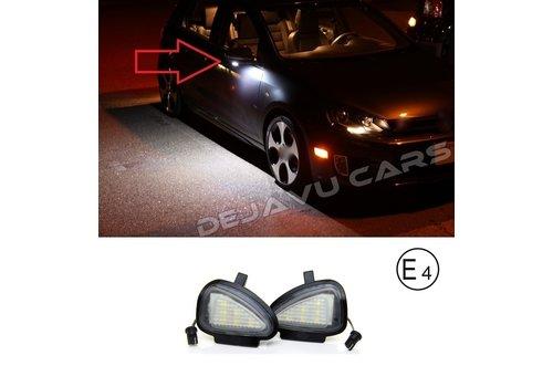 OEM LINE LED Verlichting onder buitenspiegel voor Volkswagen Golf 6
