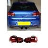 DEPO R20 / GTI Look LED Achterlichten voor Volkswagen Golf 6