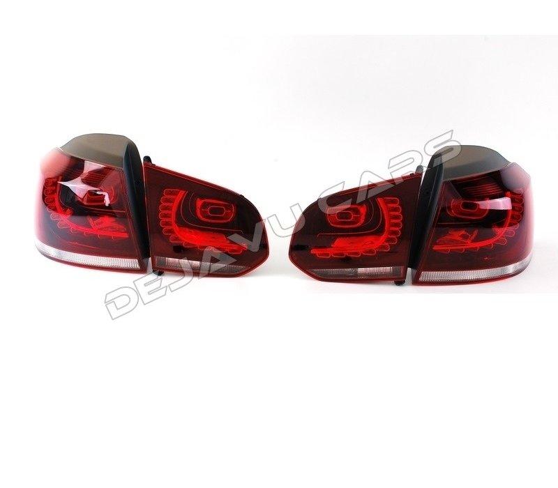 R20 / GTI Look LED Achterlichten voor Volkswagen Golf 6