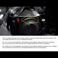 OSRAM LEDriving XENARC LED Koplampen voor Volkswagen Golf 6