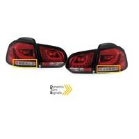R20 / GTI Look Dynamisch LED Rückleuchten für Volkswagen Golf 6