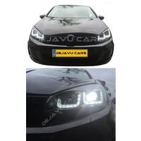 Xenon Look U-LED Koplampen voor Volkswagen Golf 6