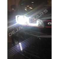 Xenon Look U-LED Scheinwerfer für Volkswagen Golf 6