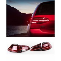 Facelift Dynamic LED Tail Lights for Volkswagen Golf 7