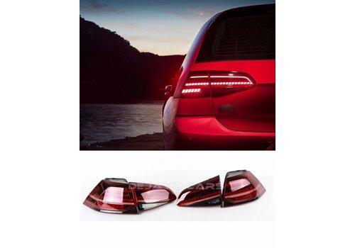OEM LINE Facelift Dynamische LED Achterlichten voor  Volkswagen Golf 7 & 7.5
