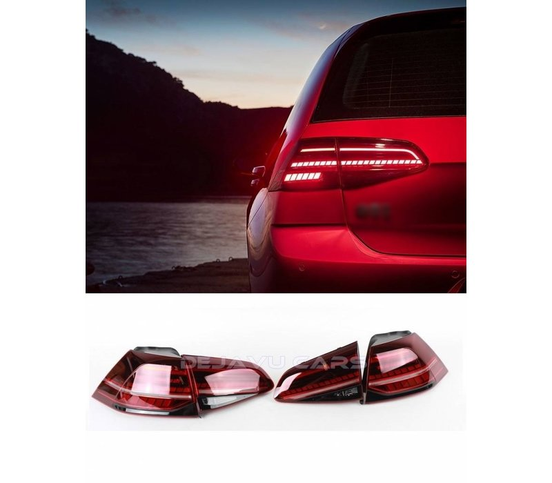 Facelift Dynamic LED Tail Lights for Volkswagen Golf 7 & 7.5