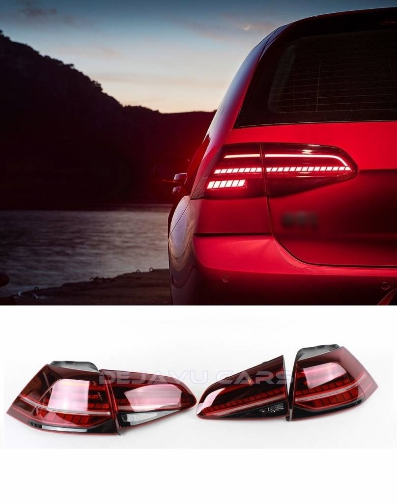 Car Tail Lights >> Facelift Dynamic Led Tail Lights For Volkswagen Golf 7 7 5