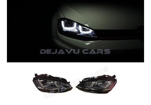 OEM LINE Xenon Look LED Headlights for Volkswagen Golf 7