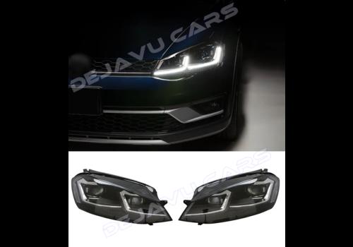 DEJAVU CARS - OEM LINE VW Golf 7.5 Facelift Xenon Look Dynamische LED Koplampen voor Volkswagen Golf 7