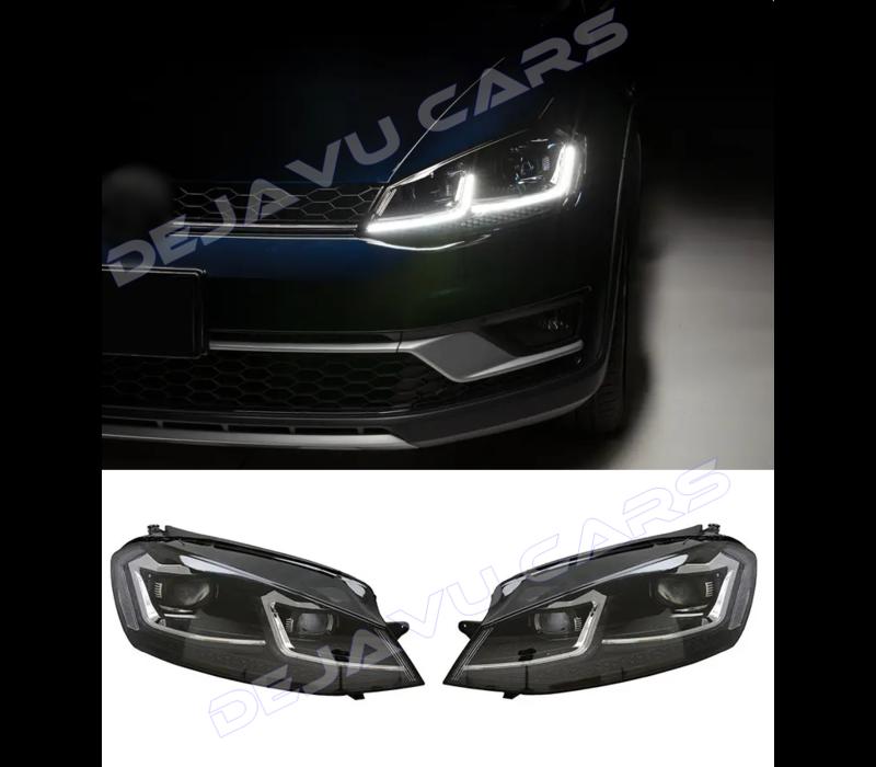 VW Golf 7.5 Facelift Xenon Look Dynamisch LED Scheinwerfer für Volkswagen Golf 7