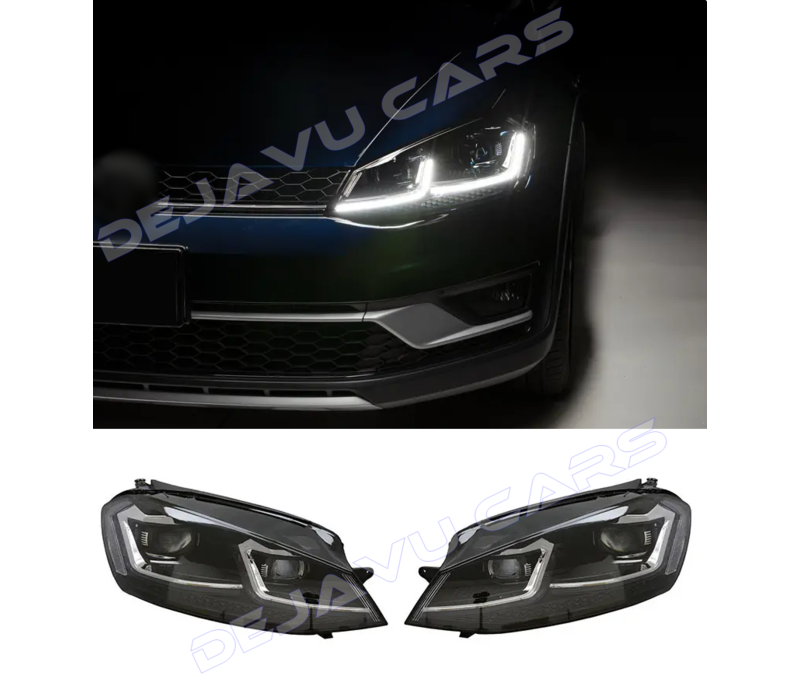 VW Golf 7.5 Facelift Xenon Look Dynamische LED Koplampen voor Volkswagen Golf 7