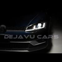 VW Golf 7.5 Facelift Xenon Look Dynamic LED Headlights for Volkswagen Golf 7