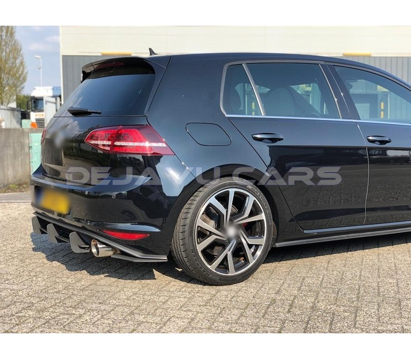 Aggressive Diffuser for Volkswagen Golf 7 GTI