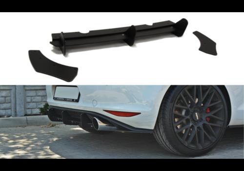Maxton Design Aggressive Diffuser for Volkswagen Golf 7 GTI