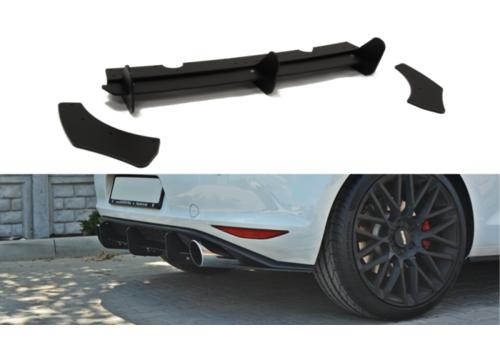 Maxton Design Aggressive Diffusor für Volkswagen Golf 7 GTI