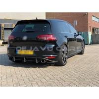 Aggressive Diffuser voor Volkswagen Golf 7 GTI