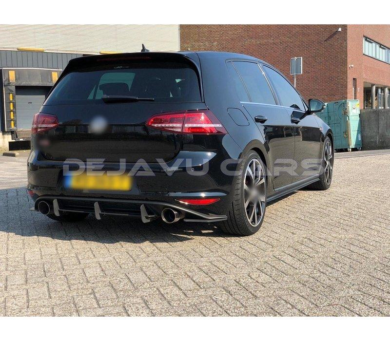 Aggressive Diffusor für Volkswagen Golf 7 GTI
