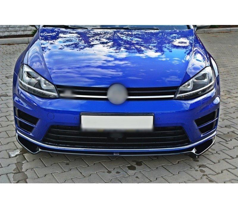 Front Splitter V.2 for Volkswagen Golf 7 R