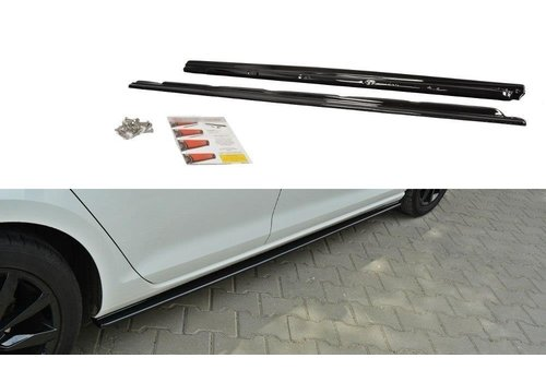 Maxton Design Side skirts Diffuser for Volkswagen Golf 7
