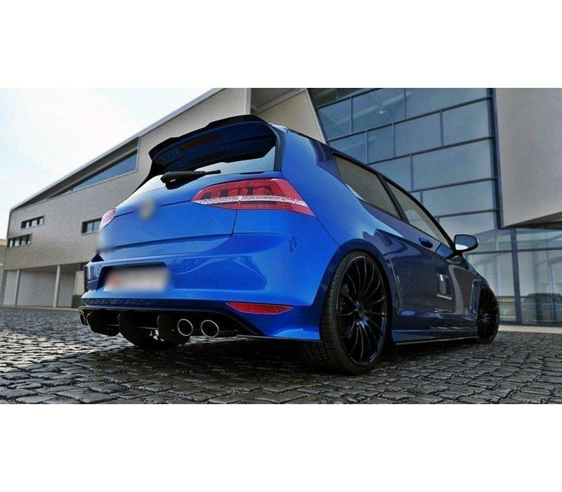 Aggressive Diffuser for Volkswagen Golf 7 R