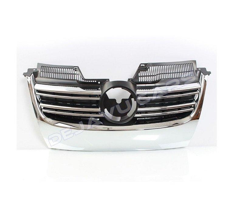 GT Look Chrome Front Grill voor Volkswagen Golf 5