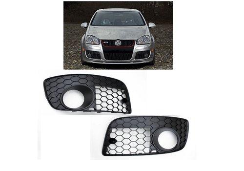 OEM LINE® Fog light grille for Volkswagen Golf 5 GTI